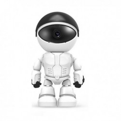 Robot intelligent camera de surveillance wifi 1080P vision à infrarouge audio bidirectionnel