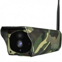 Camera de surveillance HD 1080P waterproof panneau solaire Wifi et IP