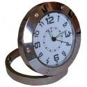 Mini horloge espion ronde