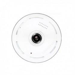 Caméra de surveillance Full HD 1080P vision panoramique Wifi IP Fisheye