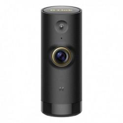 Caméra de surveillance  IP 720p vision de nuit Wifi noire cylindrique