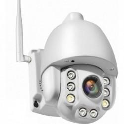 Caméra de surveillance pour extérieur à tête rotative Carte SIM 3G et 4G Zoom X5