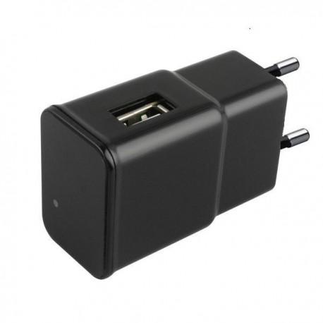 Chargeur USB à Camera espion 1080P IP WIFI Détecteur de Mouvement