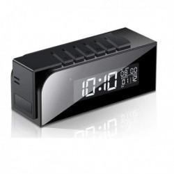 Réveil à camera Espion Full HD 1080P Wifi Vision de Nuit à détecteur de mouvement