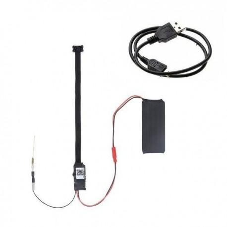 Module caméra espion Full HD 4K Wifi IP vision nocturne