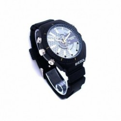 Montre espion Camera Caméscope Haute définition 1080P 8Go vision à infrarouge waterproof