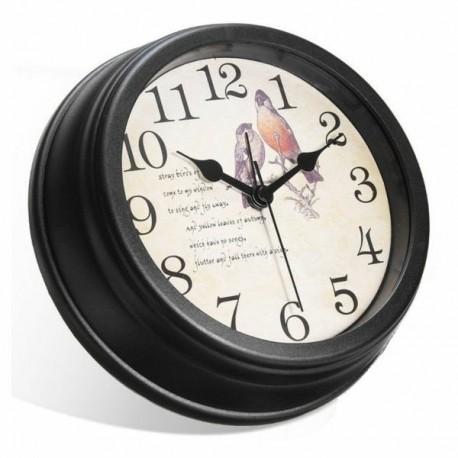 Horloge murale mini camera video résolution Full HD 1080P Wifi oiseaux détection de mouvement