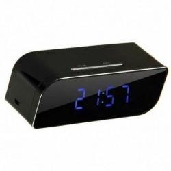Réveil matin avec Caméra Cachée HD détecteur de mouvement 1080P Wifi vision de nuit