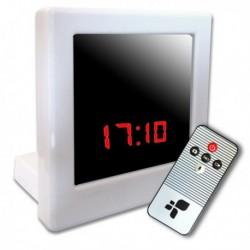 Réveil matin avec Mini Caméra Spy détecteur de mouvement et télécommandé