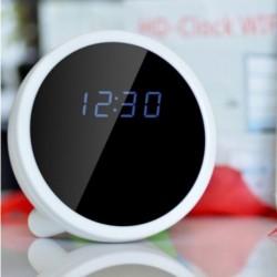 Réveil matin Camera cachée espion détecteur de mouvement et télécommande