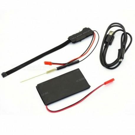 Micro Module Caméra Espion Cachée résolution 1080P HD WIFI IP détecteur de mouvement Télécommandée