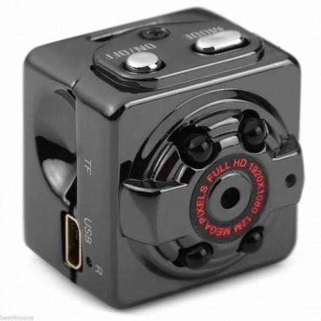 Micro camera espion sport résolution Full HD 1080P vision nocturne et détecteur de mouvement