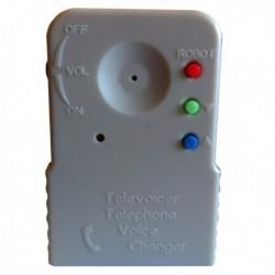 Boîtier changeur de voix téléphone 8 Voix différentes
