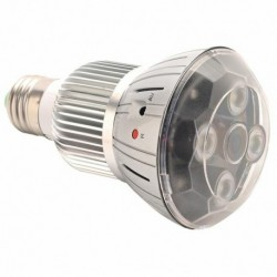 Ampoule avec micro Caméra espion secrète 1080P Wifi vision nocturne FULL HD