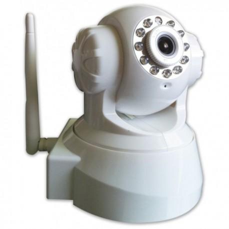 Caméra IP motorisé avec vision de nuit WiFi et contrôle à distance