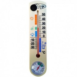 Thermomètre avec caméra espion 4Go et fonction détection de mouvement