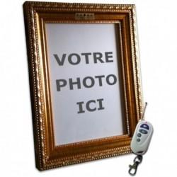 Cadre photo caméra espion indétectable et télécommandé