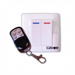 Interrupteur factice avec mini camera espion video télécommandé