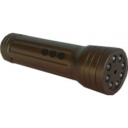 Lampe torche caméra espion