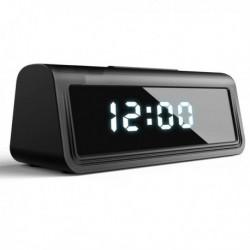 Réveil à camera espion Full HD 4K Wifi vision à infrarouge detection de mouvement