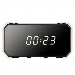 Réveil à caméra espion Full HD 4K Wifi vision de nuit effet miroir