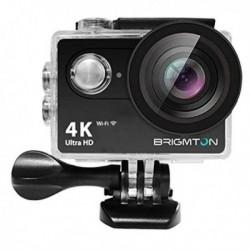 Caméra de sport Wifi Full HD 4k écran LCD de 2 pouces avec coque waterproof
