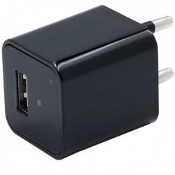 Chargeur USB secteur à caméra espion 1080P WIFI détecteur de mouvement
