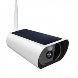 Caméra de surveillance solaire waterproof à grande batterie Wifi et IP Zoom X4